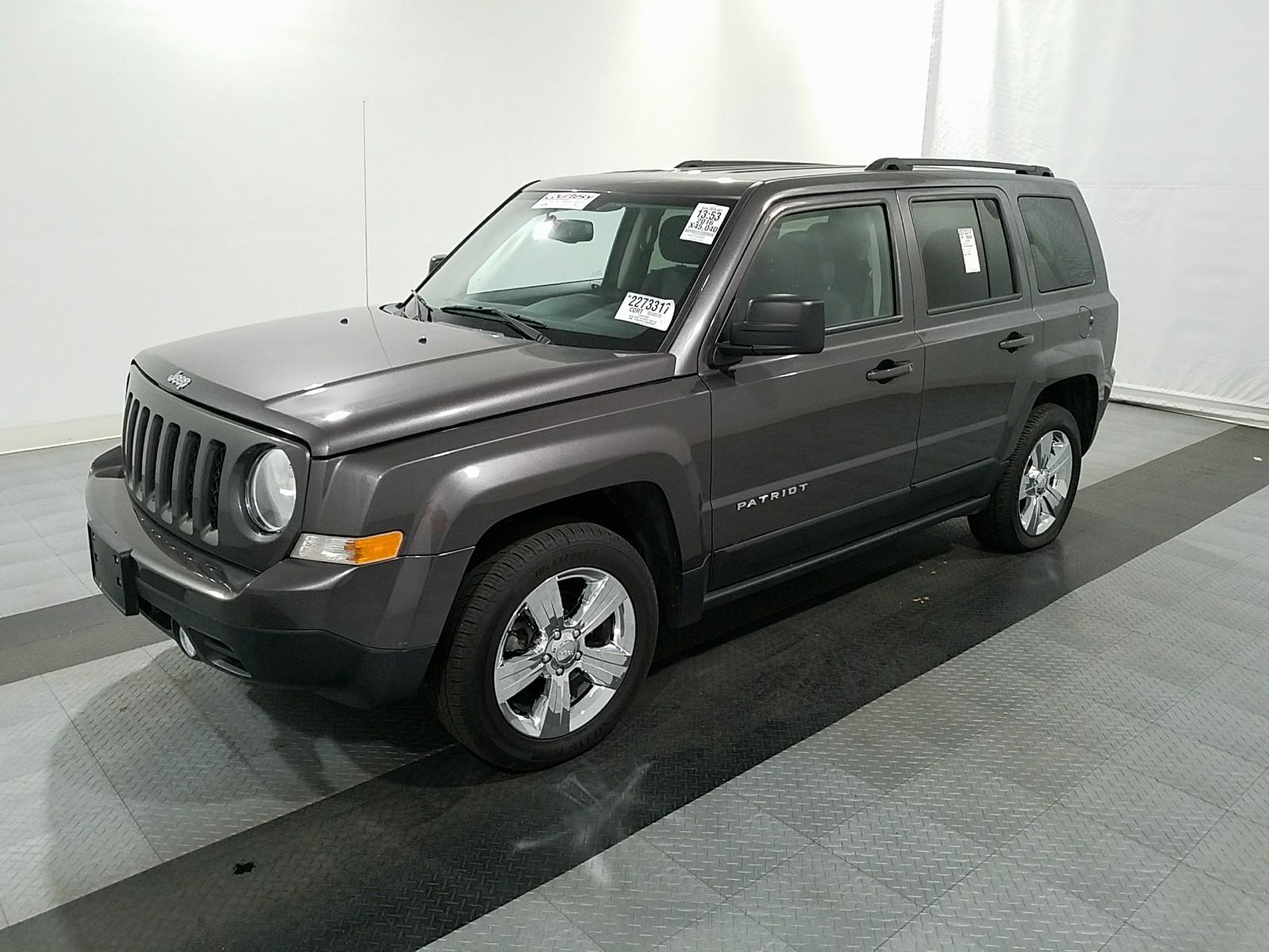 2016 jeep patriot fwd 4c latitude benzoauto. Black Bedroom Furniture Sets. Home Design Ideas